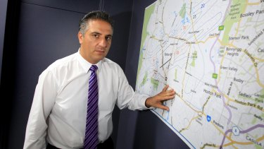 Fairfield mayor Frank Carbone is at a loss over funding.