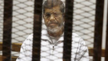 Deposed president Mohamed Morsi.