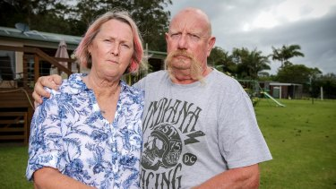 """Kay and Ken Dollery: """"It took us 12 months to pay it off. It is absolutely devastating."""""""