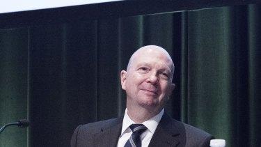 Woolworths chairman Gordon Cairns full of praise for Brad Banducci