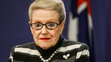 Bronwyn Bishop was dropped in favour of businessman Jason Falinski, who secured 51 votes to Mrs Bishop's 39.