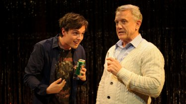 Wil King, left, and Simon Burke in Strangers In Between.