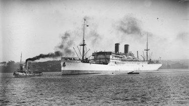 The Glaser family arrived in Australia on the SS Nieuw Zeeland