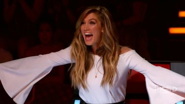 Delta Goodrem responds in her characteristically understated manner.