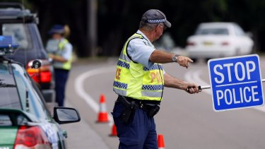A man was caught driving at three times over the legal limit.