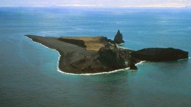 The Bogoslof Island in 1994.