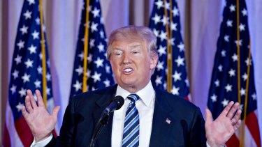 Donald Trump in Florida last month.