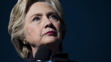 Hillary Clinton, 2016 Democratic presidential nominee, and target of a series of email leaks.