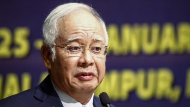 Malaysian Prime Minister Najib Razak in Kuala Lumpur in January.