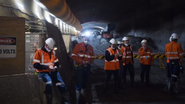 The M4 Westconnex tunnel construction has created noise and vibration.