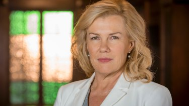 Robyn Malcolm as Maxine Pavich in the new ABC TV series <I>Harrow</I>.
