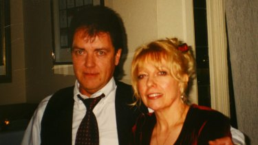 Executed: Drug dealer and police informer Terry Hodson and his wife Christine, murdered in 2004.