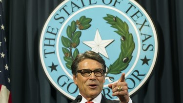 """He's from Texas. Ex-governor Rick Perry. The state's name is synonymous with """"crazy"""" in Norway."""