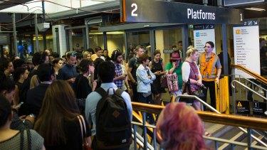 Surging demand is putting immense pressure on Sydney's rail network.
