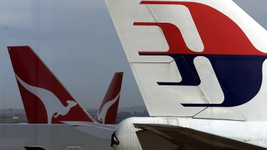 Qantas does not offer any flights to Malaysia Airlines' hub in Kuala Lumpur.