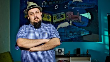 Concert promoter AJ Maddah: His Soundwave festival has been cancelled, with debts reportedly as high as $25 million.