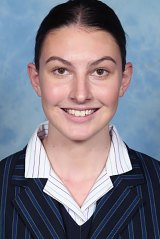 Sarah Bakker from St Paul's Grammar hopes to study law at Cambridge University after scoring a perfect 45 in the IB.