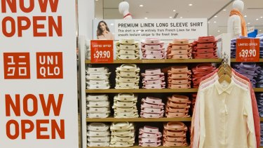Japanese retailer UNIQLO will open its 10th Australian store early next year.