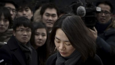 Heather Cho: Guilty of over an on-board incident, dubbed 'nut rage'