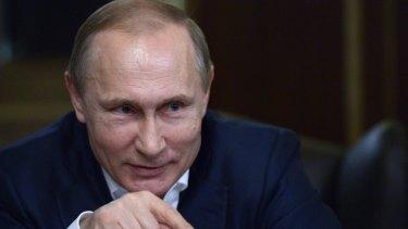 Russian President Vladimir Putin has backed Bashar al-Assad for years.