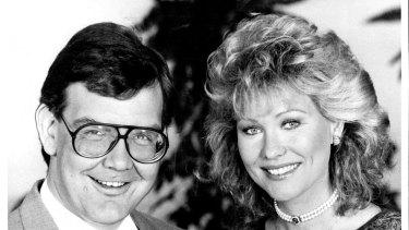 """Good Morning Australia"" - Hosts Gordon Elliott And Kerri Anne Kennerley."