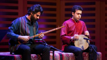 Mehdi and Adib Rostami show the transformative potential of Iranian music.