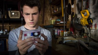 Dylan Minnette is Clay in <i>13 Reasons Why</i>.