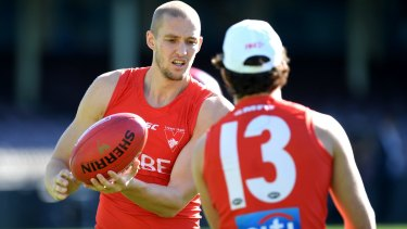 Four more: Sam Reid has signed a contract extension with the Sydney Swans.