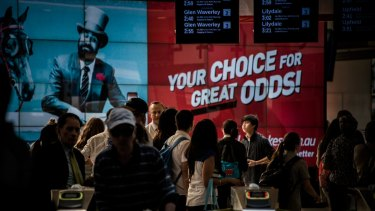 Ladbrokes published ads on its website offering people the chance to win bets.