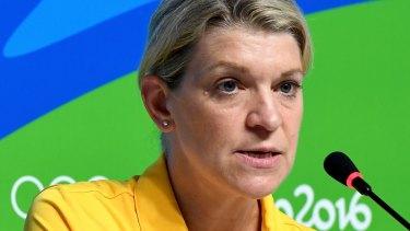 Australian Olympic Team chef de mission Kitty Chiller.
