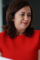 "Queensland Premier Annastacia Palaszczuk: ""We will continue to fight for Queensland and we will continue to fight for our fair share."""