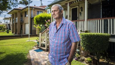 Ipswich black lung sufferer Percy Verrall is dealing with the health effects of a lifetime working in underground coal mines. Mr Verrell gives evidence on Monday to a federal health inquiry.