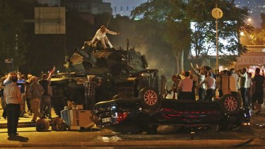 Turks help cut short an attempted military coup in the capital, Ankara. Market reaction is expected to be mainly muted.
