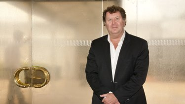 Southern Cross Austereo chief executive Grant Blackley. Shares in the company gained 7 per cent after the government scrapped licence fees just before the end of the financial year.
