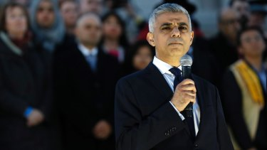London mayor Sadiq Khan has vowed that the perpetrators will be brought to justice.