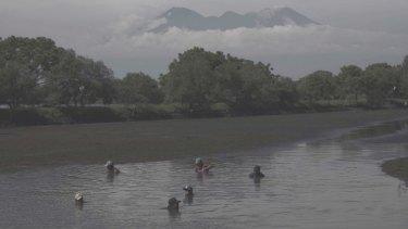 Susan Norrie, aftermath,2016. Porong, Sidoarjo, East Java, Indonesia. Video still.
