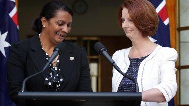 "Nova Perios was a Julia Gillard ""captain's pick"" to run for the NT Senate position."