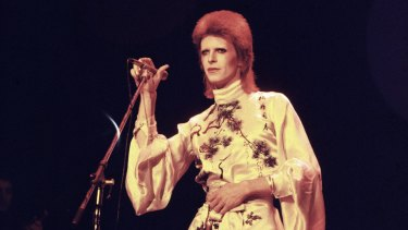 David Bowie was one of the first popular artists to declare himself homosexual, although his sexuality changed over the years.