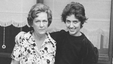 Margot and Ethel Nash in 1976. Their difficult relationship is explored in <i>The Silences</i>.
