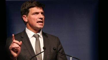 Hon Angus Taylor MP and Assistant minister for cities and Digital Transformation.