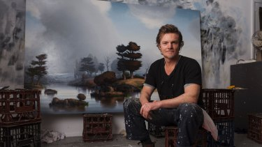 Alexander McKenzie in his Cronulla studio.
