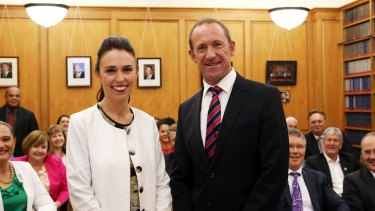 Jacinda Ardern, 37, is Labour's youngest leader. She replaced Andrew Little on Tuesday.