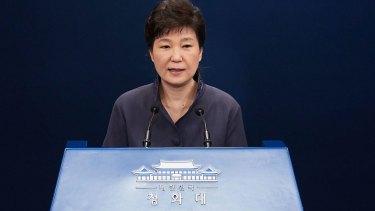 "South Korea's President Park Geun-Hye apologises to the nation over the ""shaman scandal""."