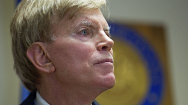"Far-right extremists have supercharged Trump's online campaign. Former Ku Klux Klan leader David Duke registers to run for the US Senate, saying ""the climate of this country has moved in my direction."""