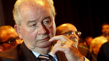Julio Grondona, late president of the Argentine Football of Association.