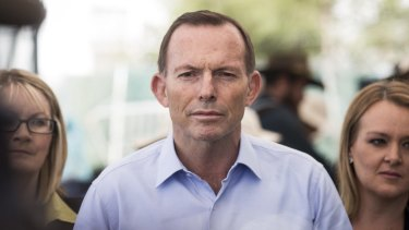 Under the pump: Prime Minister Tony Abbott.