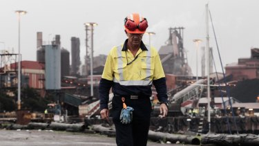 The state government is being urged to take action to protect the Port Kembla steelworks.