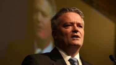 Finance Minister Mathias Cormann has painted a doomsday scenario for Australia's economy under a future Shorten government.