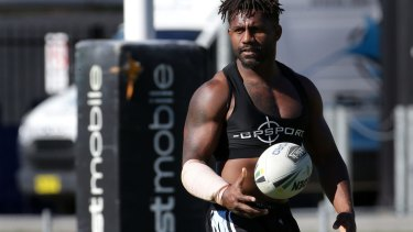 A pre-season within a season: James Segeyaro says an injury lay-off was a blessing in disguise.