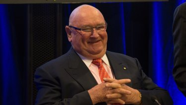 Melburnian Lindsay Fox donated $10,000 to the Liberals' local government campaign.
